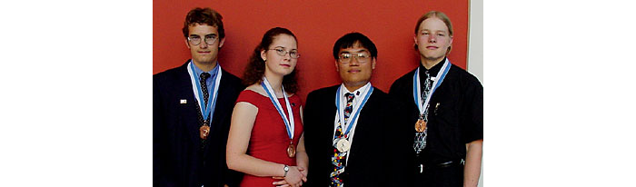 Chemistry olympiad team.