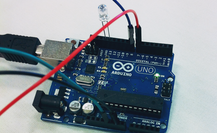 Photo of An Arduino