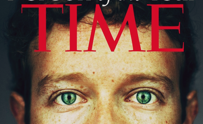 Mark Zuckerberg was Time's 2010 Person of the Year.