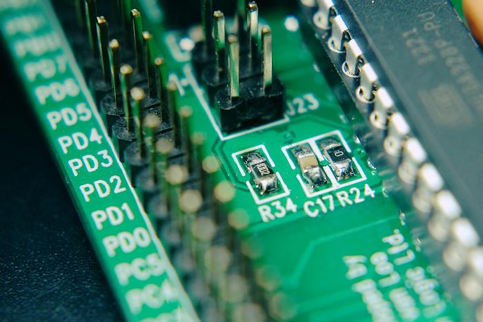 A chip board.