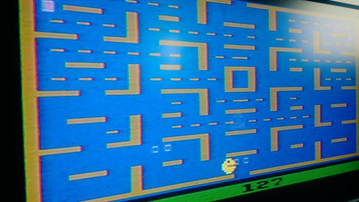 Vintage PacMan game.