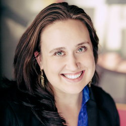 Photo of Amanda Gelender.