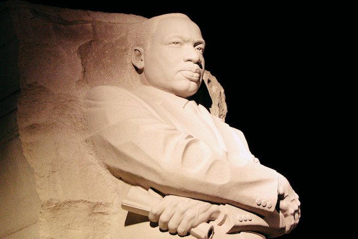 The MLK memorial in Washington, D.C.