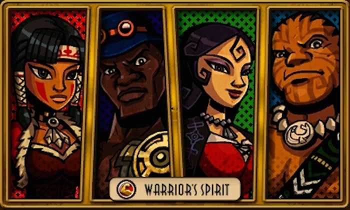 Characters from Code Name STEAM: Tiger Lily, a healer from Peter Pan; John Henry, from the African American folk tale of the same name; The Fox - a sniper character who wields the Fox Rifle, and Queequeg, a notable character from Moby-Dick that specializes in machinery. (Descriptions via Nintendo Wikia.